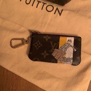 Authentic Louis Vuitton Groom Key Pouch